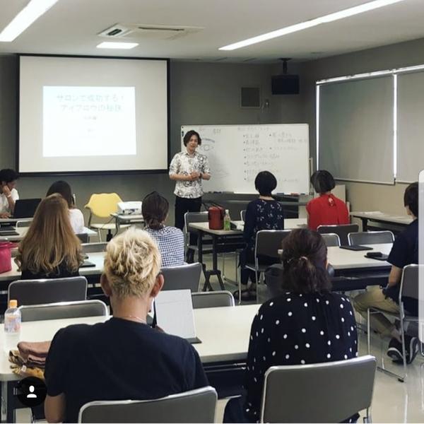 TOSHIが講師を務めるアイブロウセミナーが和歌山にて開催されました!