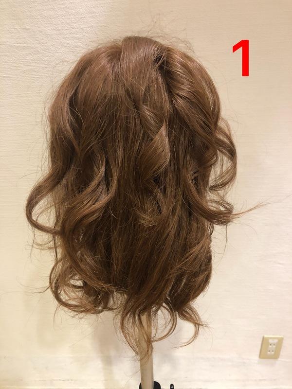 ヘアセット完全解説!編み込みまとめ髪!画像付きです!