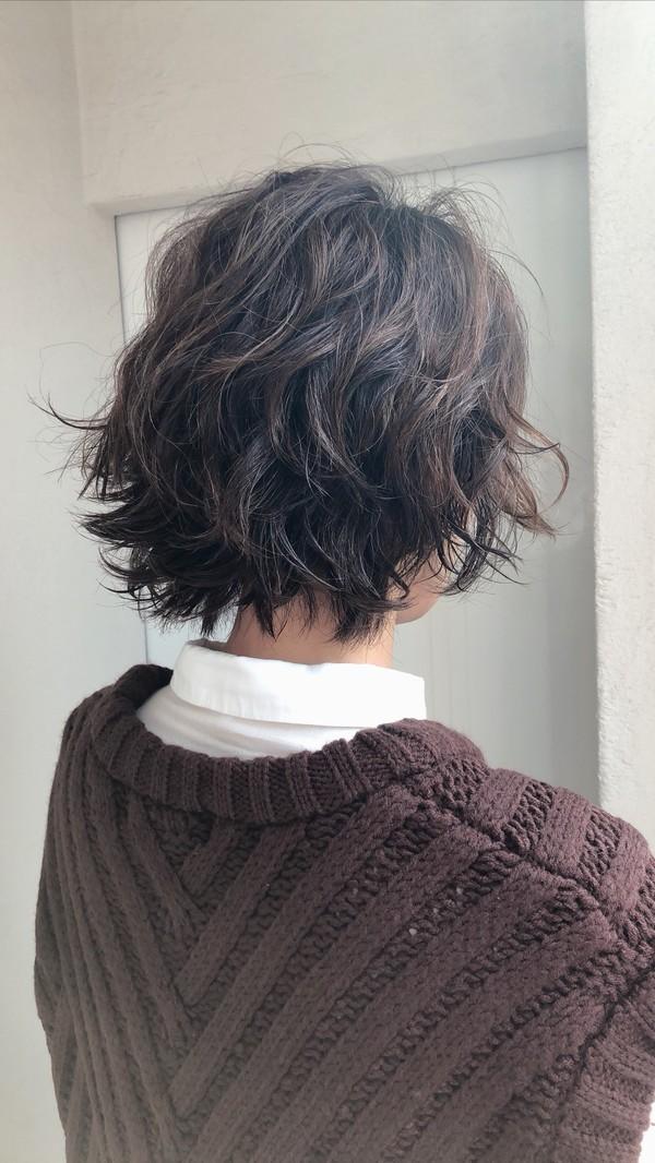 秋冬のショートヘアはリッジパーマがオススメ!