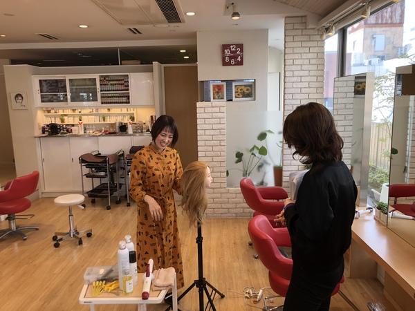 ブライダルチーフさやかさんのヘアアレンジセミナーPV撮影のお手伝い